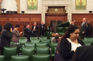 Canada's Parliament attacked by gunman