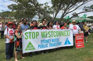 The Community Rallies Against WestConnex