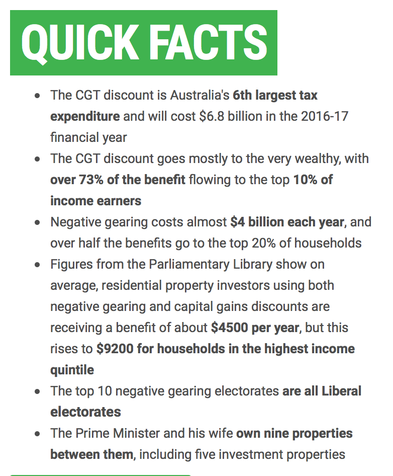 Information screenshot from http://greens.org.au/ng-and-cgt
